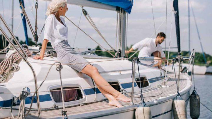 Свидание на яхте