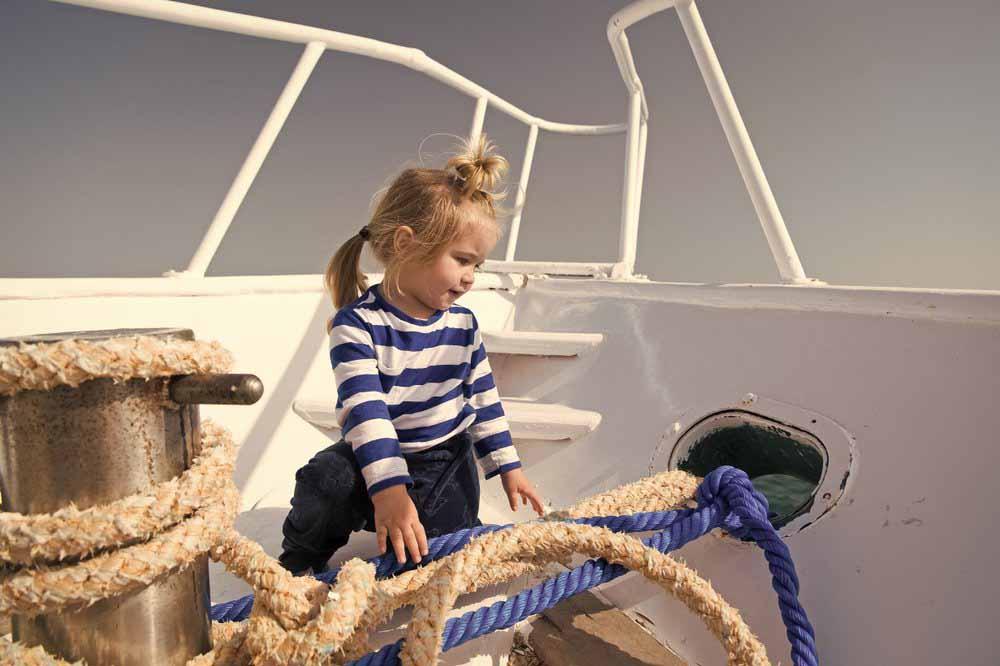 """Фото """"Дети на яхте"""""""