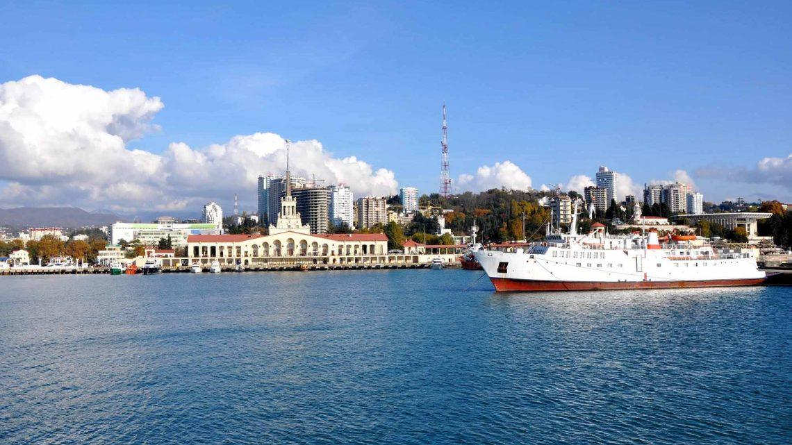 Большой и центральный порт Сочи
